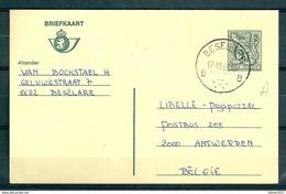 Postkaart Van Beselare B Naar Antwerpen - Belgium