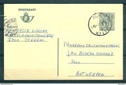 Postkaart Van Izegem Naar Antwerpen - Belgium