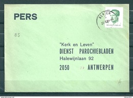 Pers Brief Van Bertem Naar Antwerpen - Belgium