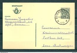 Postkaart Van Beveren (waas) Naar Antwerpen - Belgium