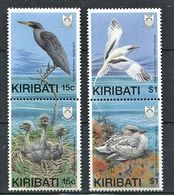 262 - KIRIBATI 1989 - Yvert 195/98 - Oiseau - Neuf ** (MNH) Sans Trace De Charniere - Kiribati (1979-...)