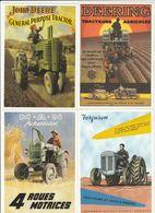 4 CPM:TRACTEUR M.A.N ACKERDIESEL,FERGUSON,JOHN DEERE GÉNÉRAL PURPOSE TRACTOR,DEERING TRACTEUR AGRICOLE - Tractores