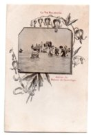 (Femmes) 1449, Femme En Maillot De Bain, La Vie Balneaire 21, Groupe De Baigneurs, Dos Non Divisé - Vrouwen