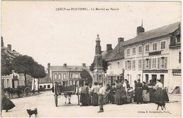 Crécy-en-Ponthieu / Le Marché Au Beurre / Ed. B. Duvauchelle - Crecy En Ponthieu