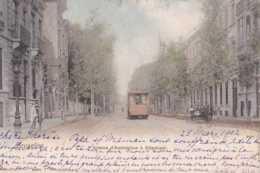 Etterbeek - Avenue D'Auderghem - Circulé En 1902 - Dos Non Séparé - Animée - Tramway - TBE - Auderghem - Oudergem