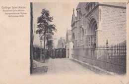 Etterbeek - Collège Saint Michel - Inauguration De L'Eglise 29 Octobre 1910 - Pas Circulé - Animée - TBE - Auderghem - Oudergem