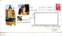 Pap Beaujard Flamme Chiffrée Illustré Saint Plancard - Prêts-à-poster:Overprinting/Beaujard