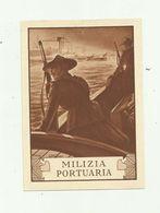 ITALIE - Entier Postal Milizia Portuaria 20 + 5 Rouge - 1900-44 Victor Emmanuel III.