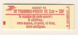 (C18) - CARNET FERME DE 10 TP - LIBERTE GANDON 2.00F - Y&T N°2274 - Uso Corrente