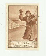 ITALIE - Entier Postal Milizia Della Strada 20 + 5 Rouge - 1900-44 Victor Emmanuel III.
