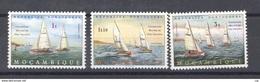 Portugal  -  Mozambique  :  Yv  63-67     **   Bateau - Boat - Mozambique