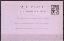 Guyane Bel Entier Postal Ancien Type Carte Postale. TB. A Saisir! - Französisch-Guayana (1886-1949)