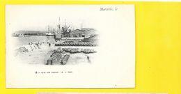 MARSEILLE Quai Des Anglais (Lacour) Bouches Du Rhône (13) - Joliette, Port Area