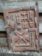 Mali Dogon Deur Van Honingzolder - Porte De Grenier De Miel Des Dogon Du Mali - Arte Africano