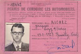Permis De Conduire Les Automobiles, Seine Et Marne. 1953. - Documenti Storici