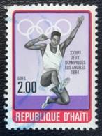 Haïti - A1/20 - (°)used - 1984 - Olympische Spelen - Haiti