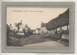 CPA - (77) COURTOMER - Aspect De La Rue Du Vieux Château Dans Les Années 20 - France