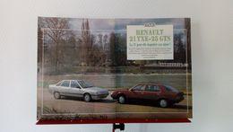 Coupure De Presse De 1986 Renault 21 TXE-Renault 25 GTS - Voitures