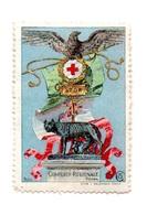 MARCHE DA BOLLO  -  CROCE ROSSA  ITALIANA COMITATO REGIONALE ROMA - 1900-44 Vittorio Emanuele III