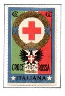 MARCHE DA BOLLO  -  CENT. 5 CROCE ROSSA  ITALIANA - 1900-44 Vittorio Emanuele III