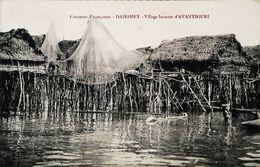 CPA    Benin  Dahomey Village Lacustre D' Avantsouri - Benin