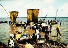 Benin  Dahomey  Cotonou N° 4740  Région Sud Lac Ahémé - Benin