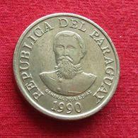 Paraguay 100 Guaranies 1990 KM# 177  Paraguai - Paraguay