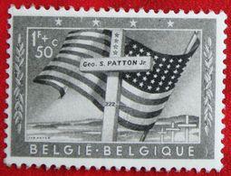 Memoriaal Generaal Patton OBC N° 1032 (Mi 1077) 1957 POSTFRIS MNH ** BELGIE BELGIEN / BELGIUM - Unused Stamps