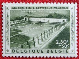 Memoriaal Generaal Patton OBC N° 1033 (Mi 1078) 1957 POSTFRIS MNH ** BELGIE BELGIEN / BELGIUM - Unused Stamps