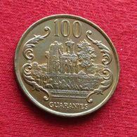 Paraguay 100 Guaranies 1993 KM# 177a  Paraguai - Paraguay