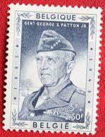 Memoriaal Generaal Patton OBC N° 1035 (Mi 1080) 1957 Ongebruikt/ MH BELGIE BELGIEN / BELGIUM - Unused Stamps