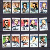 Antarctique Britannique 1973, Célébrités, Navigateurs Et Aviateurs, 45 / 59**, Cote 60 €, - Britisches Antarktis-Territorium  (BAT)