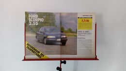 Coupure De Presse De 1989 Ford Scorpio 2.5D - Voitures