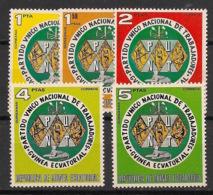 Guinée  équatoriale - 1973 - N°Mi. 236 à 239 - Parti Du Travail / PUNT - Neuf Luxe ** / MNH / Postfrisch - Guinée Equatoriale