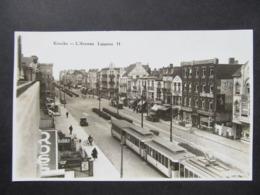 AK KNOKKE L'Avenue Lippens Strassenbahn Ca.1930  ///  D*44789 - Knokke