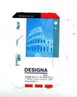 Ticket De Parking Designa Rome - Titres De Transport