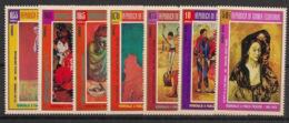 Guinée  équatoriale - 1974 - N°Mi. 395 à 401 - Picasso - Neuf Luxe ** / MNH / Postfrisch - Guinée Equatoriale