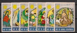 Guinée  équatoriale - 1974 - N°Mi. 437 à 443 - Noel - Neuf Luxe ** / MNH / Postfrisch - Guinée Equatoriale