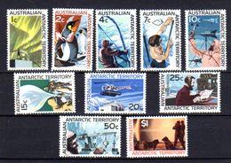 Australie Antarctique 1966-68, Sujet Divers, 8 / 18**, Cote 100 € - Nuevos