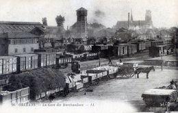 45   ORLEANS   LA GARE DES MARCHANDISES - Orleans