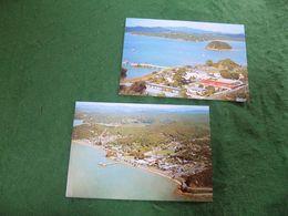 VINTAGE NEW ZEALAND: Paihia X2 Aerial Views Colour - Nuova Zelanda