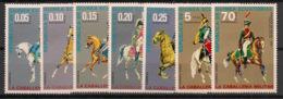 Guinée  équatoriale - 1976 - N°Mi. 775 à 781 - Cavalerie - Neuf Luxe ** / MNH / Postfrisch - Guinée Equatoriale