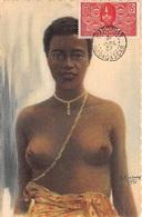 FRANCE .CARTE MAXIMUM. N°207853. 1937. Cachet MADAGASCAR; EXPOSITION COLONIALE; FEMME MALGACHE - Cartoline Maximum