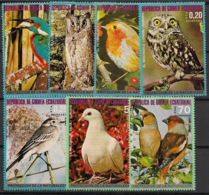 Guinée  équatoriale - 1976 - N°Mi. 929 à 935 - Faune / Oiseaux - Neuf Luxe ** / MNH / Postfrisch - Guinée Equatoriale