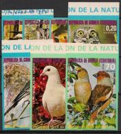 Guinée  équatoriale - 1976 - N°Mi. 929A à 935A - Faune / Oiseaux - Non Dentel / Imperf. -Neuf Luxe ** / MNH / Postfrisch - Guinée Equatoriale