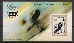 Guinée  équatoriale - 1976 - N°Mi. Bloc 216 - Innsbruck / Olympics - Neuf Luxe ** / MNH / Postfrisch - Guinée Equatoriale