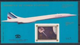 Guinée  équatoriale - 1976 - N°Mi. Bloc 218 - Concorde / UIT / Bell - Neuf Luxe ** / MNH / Postfrisch - Guinée Equatoriale