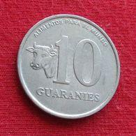 Paraguay 10 Guaranies 1988 KM# 167 Fao F.a.o.  Paraguai - Paraguay