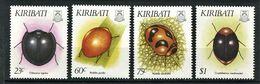 262 - KIRIBATI 1993 - Yvert 278/81 - Insecte Coleoptere - Neuf ** (MNH) Sans Trace De Charniere - Kiribati (1979-...)