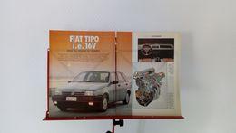 Coupure De Presse De 1989 Fiat Tipo I.e 16V - Voitures